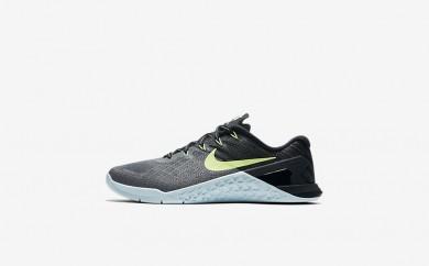 Η κα πάνινα παπούτσια Nike metcon 3 women dark grey/glacier blue/μαύρο/ghost green 849807-031