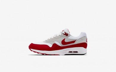 Η κα πάνινα παπούτσια Nike air max ultra 1 2.0 women λευκό/neutral grey/μαύρο/university red 908489-033
