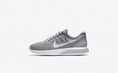 Η κα πάνινα παπούτσια Nike lunarglide 8 women wolf grey/cool grey/λευκό 843726-043