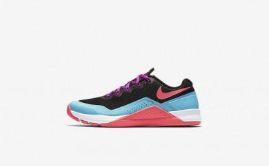 Η κα πάνινα παπούτσια Nike metcon repper dsx women μαύρο/chlorine blue/hyper violet/racer pink 902173-051