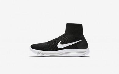 Η κα πάνινα παπούτσια Nike lunarepic flyknit women μαύρο/ανθρακί/volt/λευκό 818677-075
