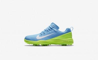 Η κα πάνινα παπούτσια Nike lunar command 2 women vivid sky/ghost green/λευκό 880120-109