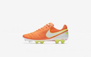 Η κα πάνινα παπούτσια Nike tiempo legend vi fg women tart/volt/hyper pink/λευκό 819256-114