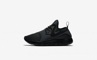 Η κα πάνινα παπούτσια Nike lunarcharge essential women μαύρο/μαύρο/volt/dark grey 923620-140