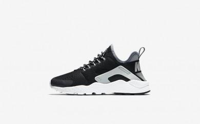 Η κα πάνινα παπούτσια Nike air huarache ultra women μαύρο/cool grey/pure platinum/μαύρο 859516-146