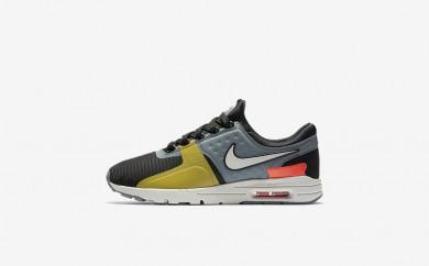 Η κα πάνινα παπούτσια Nike air max zero si women μαύρο/cool grey/total crimson/light bone 881173-156