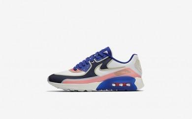 Η κα πάνινα παπούτσια Nike air max 90 ultra 2.0 women sail/paramount blue/binary blue/sail 881108-157