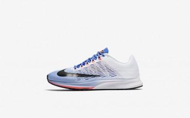 Η κα πάνινα παπούτσια Nike air zoom elite 9 women aluminum/λευκό/medium blue/μαύρο 863770-166