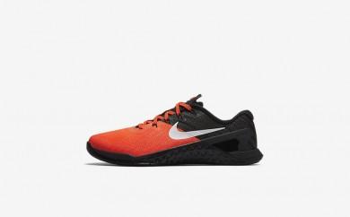 Η κα πάνινα παπούτσια Nike metcon 3 amp women total crimson/μαύρο/λευκό 849808-191