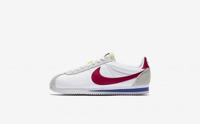 ουδέτερος παπούτσια Nike classic cortez nylon premium unisex λευκό/varsity royal/varsity red/varsity red 898280-005