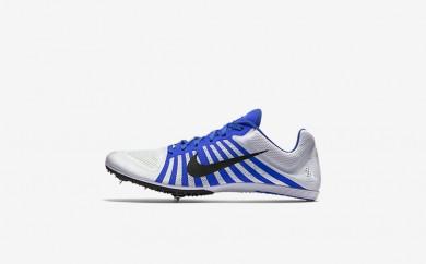 ουδέτερος παπούτσια Nike zoom d unisex λευκό/racer blue/μαύρο 819164-032